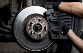 Brake servicing, repairs, replacement pads and shoes, cylinders and hoses